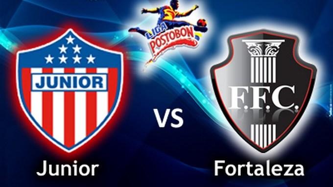 junior vs fortaleza liga postobon ii 2014 Copiar
