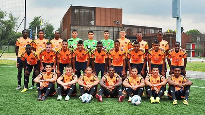 Sel Colombia sub 17 - foto FCF