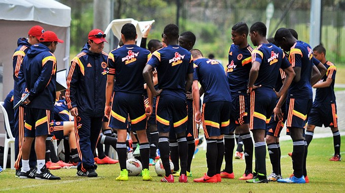 Sel. Colombia sub 17 - foto FCF