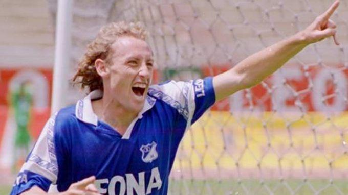 Ricardo Lunari le marcó a Nacional para el subtítulo de Millonarios en 1996