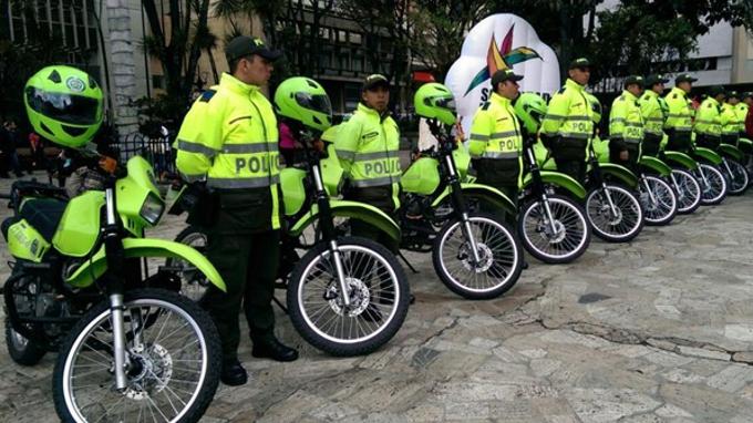 policia bogota
