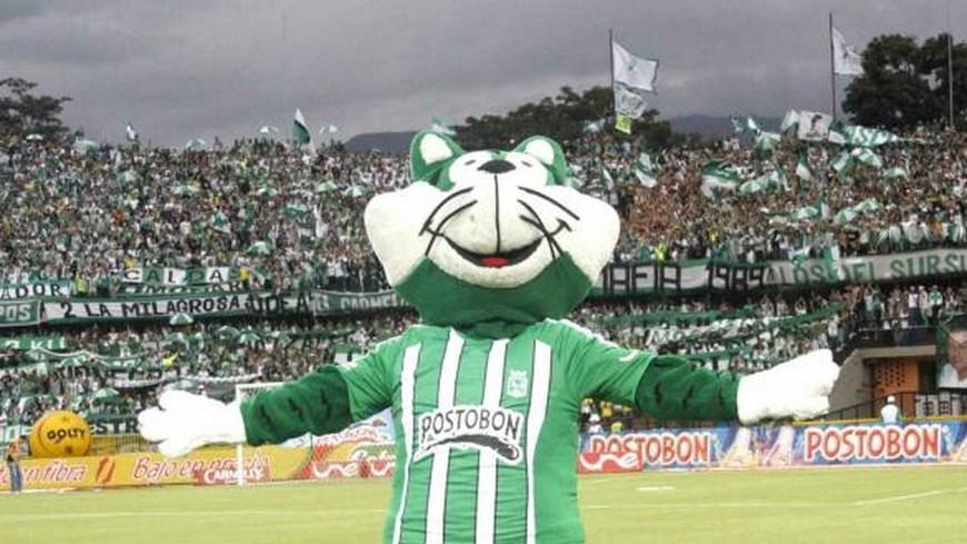 Nacho Mascota del Nacional - Foto Atlético Nacional