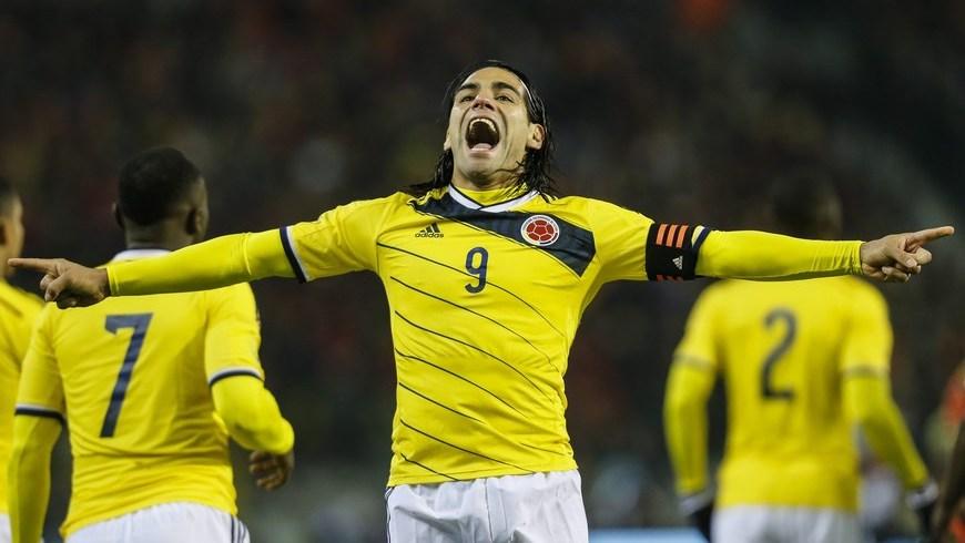 Falcao García llegó a 24 goles con la Selección Colombia, alcanzando a Iguarán, que tenía el récord
