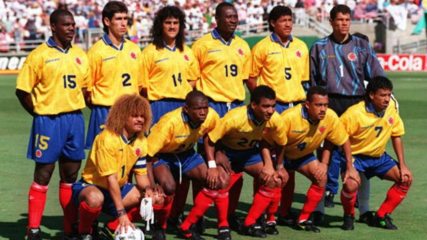 Foto Selección Colombia 1990 - archivo
