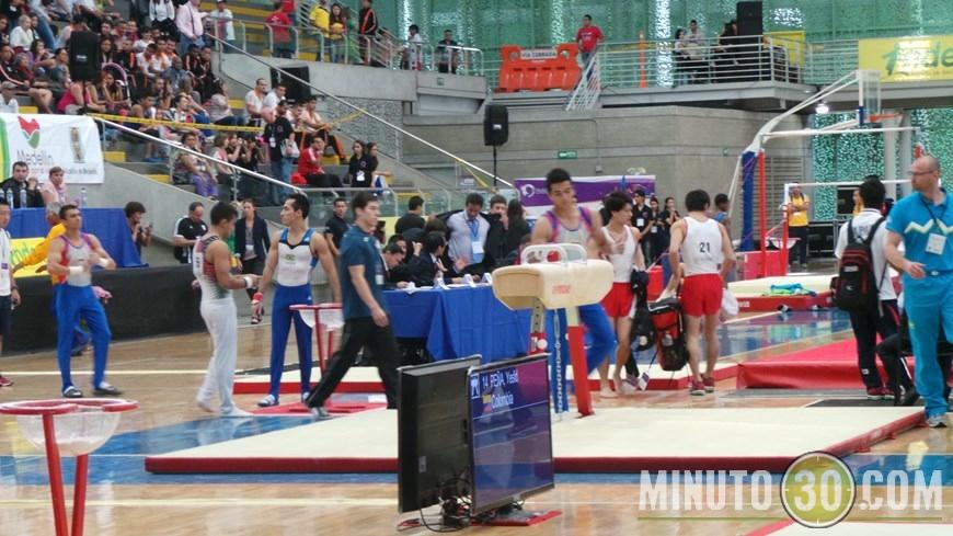 Mundial de Gimnasia Artística Medellín 2014