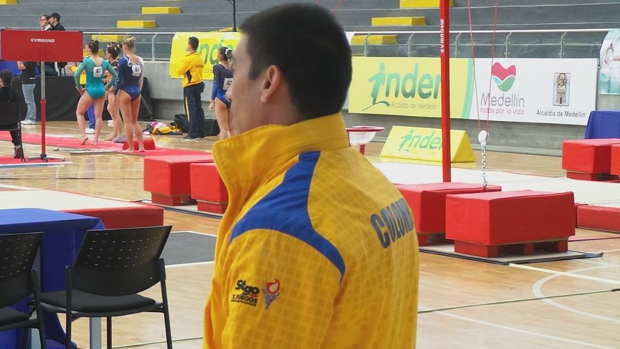 Jorge Hugo Giraldo - Copa Mundo de Gimnasia Artística Medellín 2014