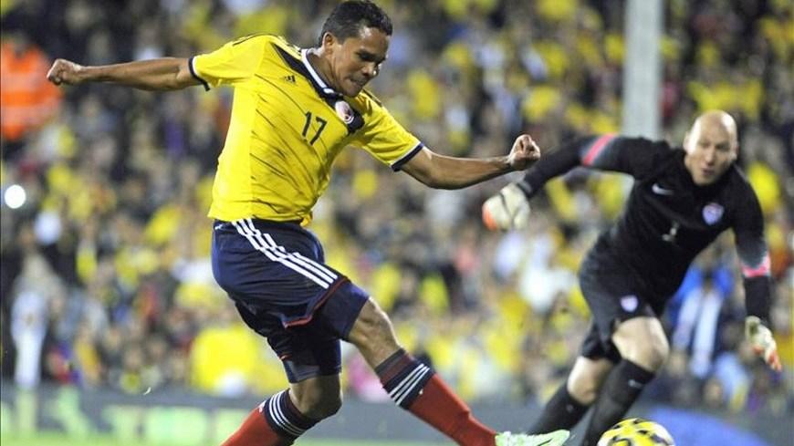 Carlos Bacca - Colombia 2 EE.UU. 1 - Foto EFE
