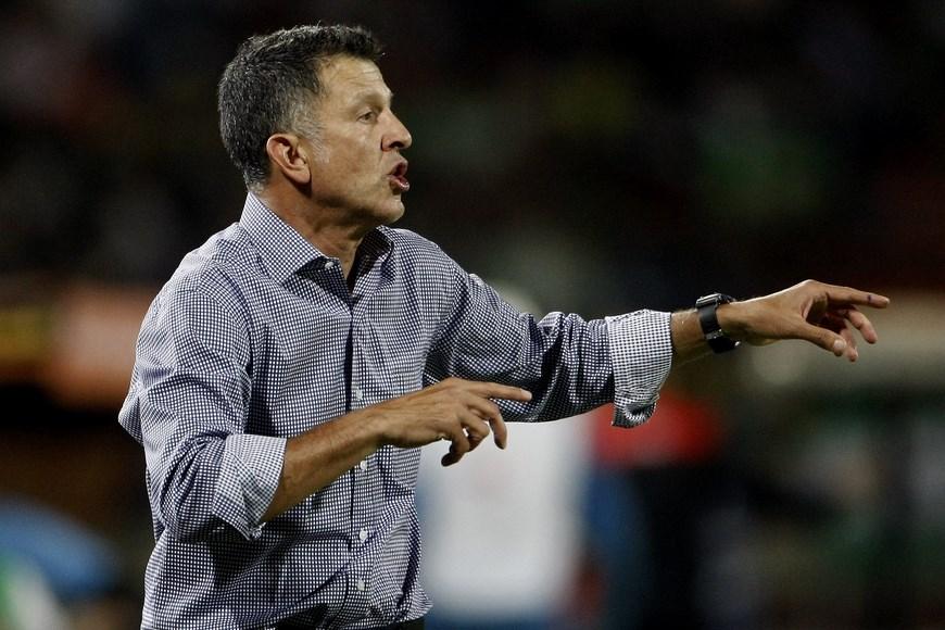 Juan Carlos Osorio, D.T., de Atlético Nacional.