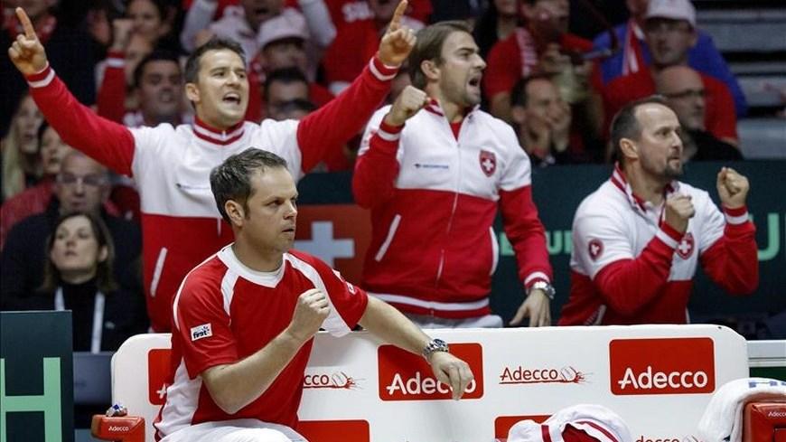Suiza Copa Davis - Foto EFE