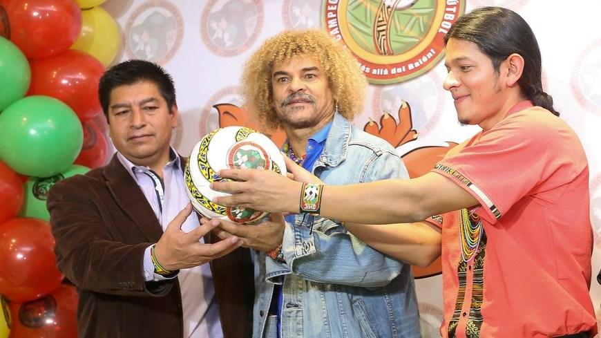 1er Campeonato de fútbol indigena en Colombia