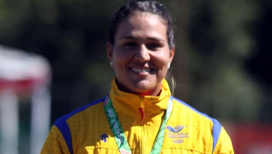 Ana Rendon Oro en Tiro con arco - Foto COC