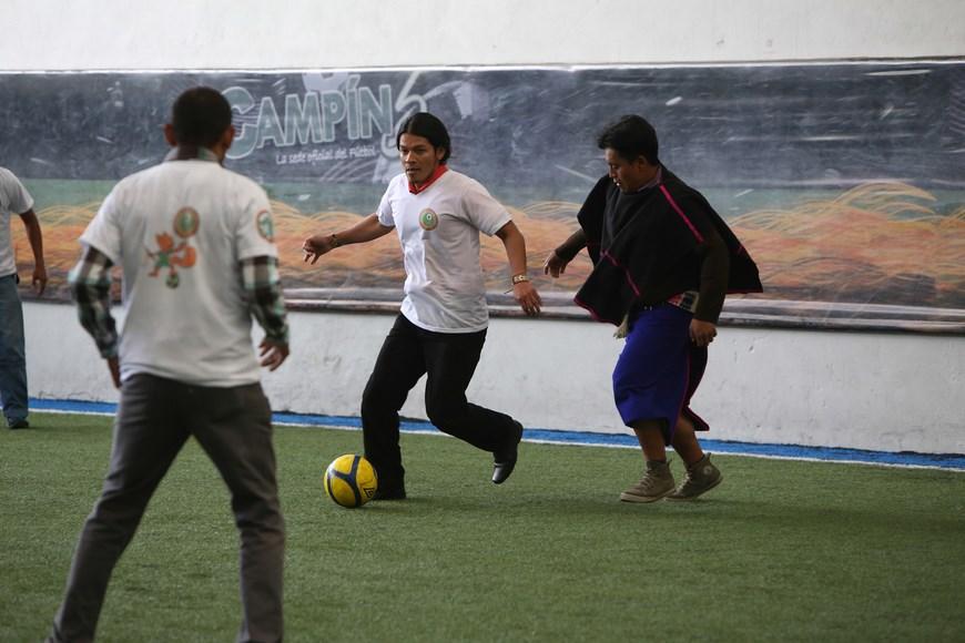 1er Campeonato de fútbol indígena en Colombia