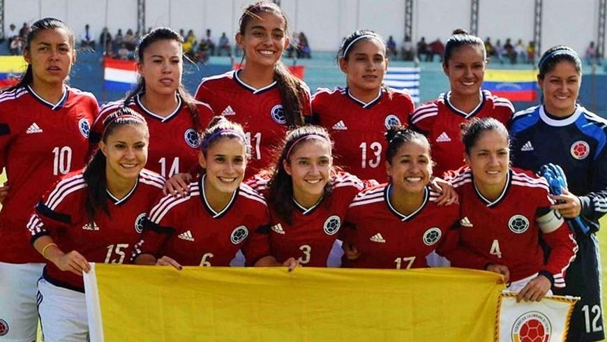 Selección Colombia Femenina de Fútbol - Foto FCF