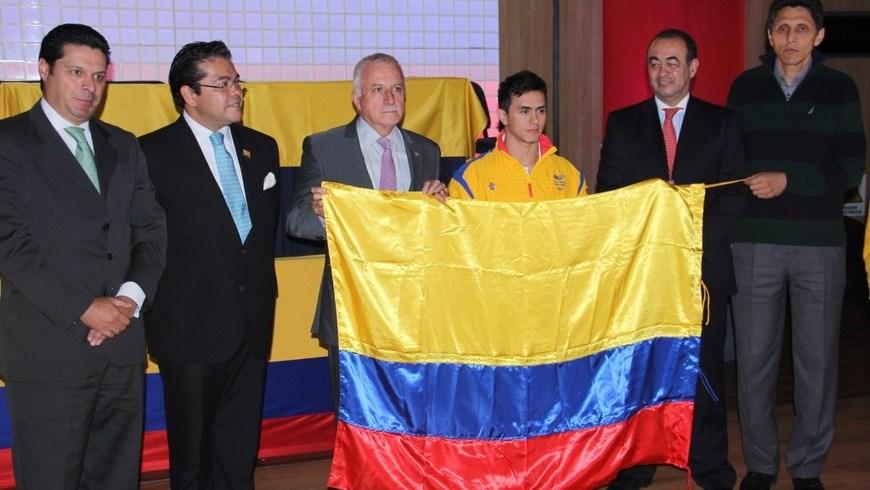 Foto COC- Atletas Colombianos a Centroamericanos