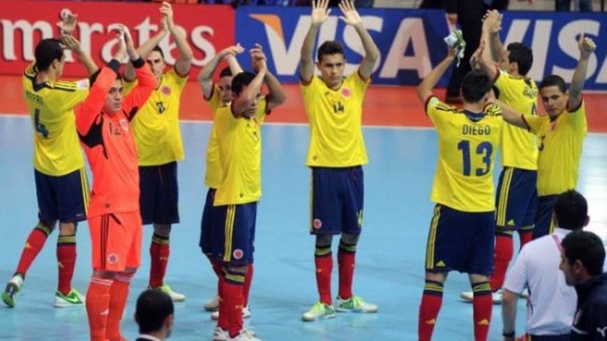 Foto Selección Colombia Futsal - Foto COC