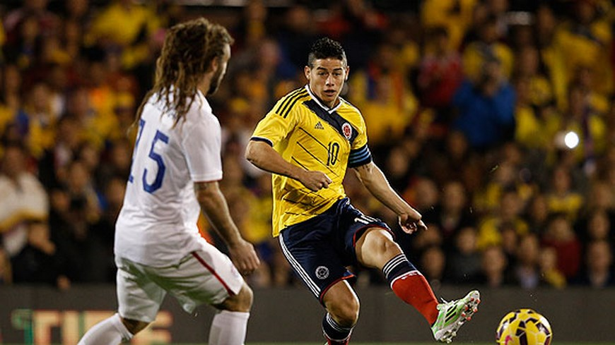 Foto Adrian Dennis/AFP/Getty Images - Colombia Vs EE.UU.