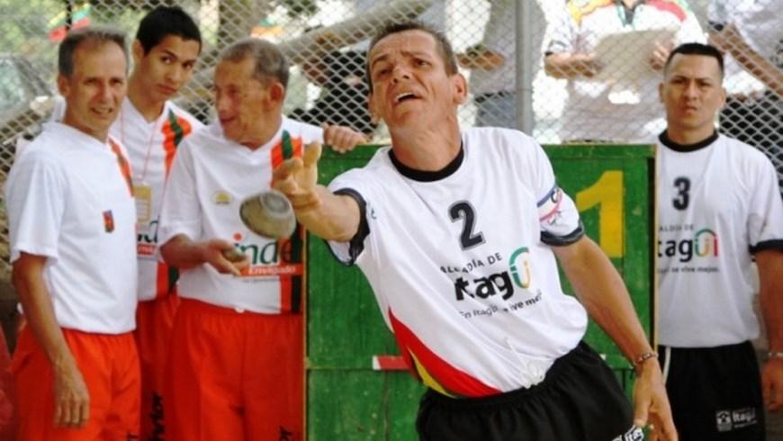 Juegos Departamentales Tejo en La Estrella1