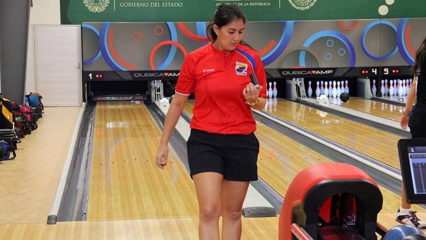 María José Rodríguez oro en bolo Veracruz 2014 - Foto COC