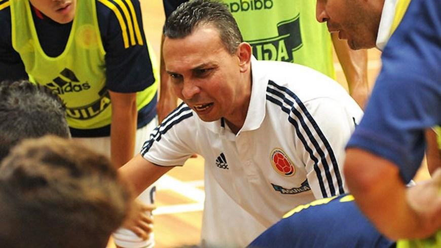Osmar Fonnegra - DT Sel Colombia Futsal - Foto FCF