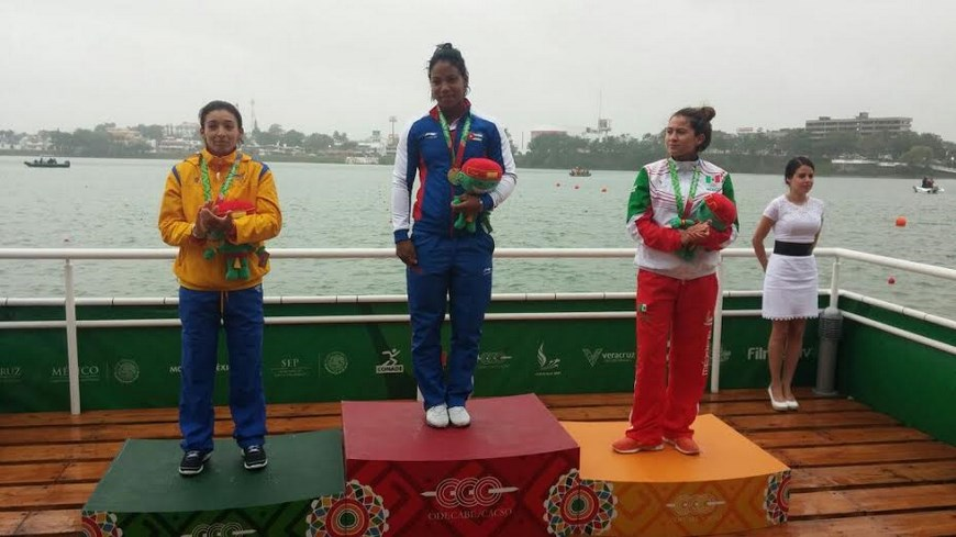 Tatiana Muñoz - Canotaje Centroamericanos y del Caribe - Foto EFE