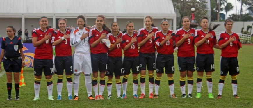 Selección Colombia Femenina 1