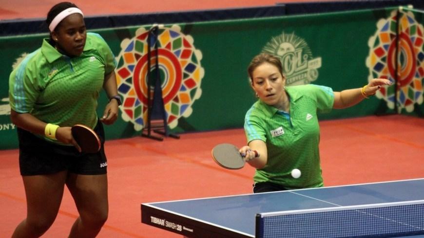 Tenis de Mesa dobles femenino COC 1
