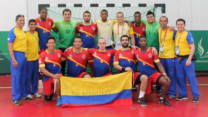 Colombia Balonmano en Veracruz 2014 - Foto COC