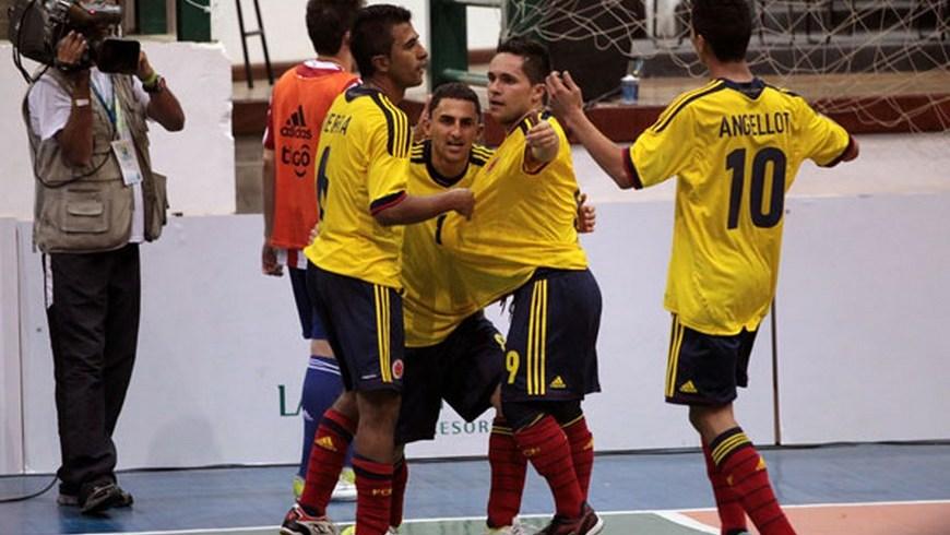 Selección Colombia Fútbol Salón - Foto Internet