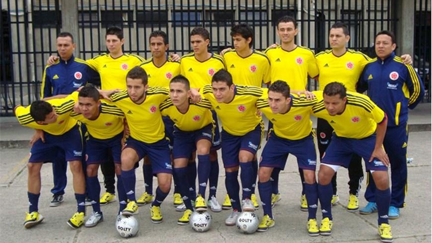 Selección Colombia de Futsal- foto FCF