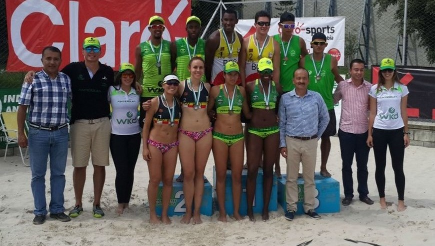 Voleibol de Playa nacional - Antioquia campeón - Foto COC