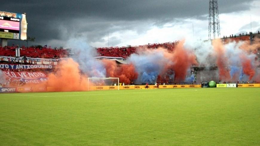 Salida del Independiente Medellín - Foto Dalerojo.net