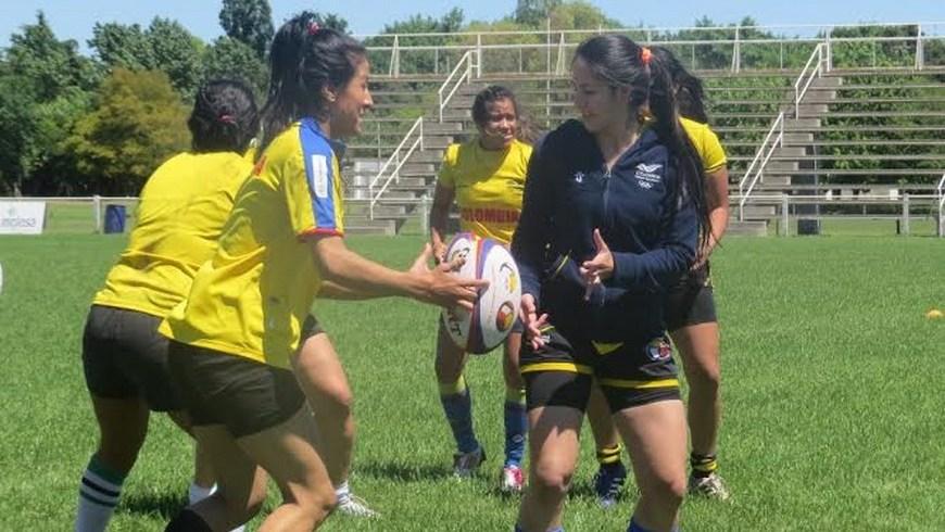 Selección Colombia Femenina de Rugby - Foto COC