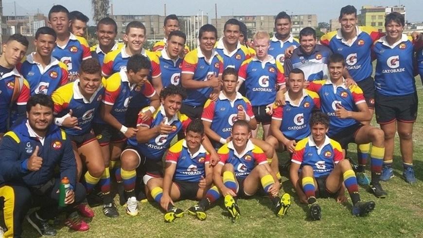Selección juvenil Colombia de Rugby - Foto COC