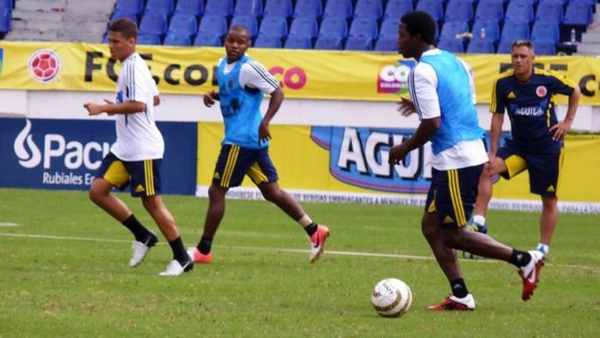Selección Colombia de fútbol - foto archivo