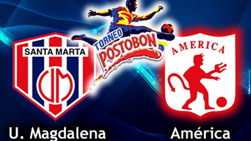union magdalena vs america torneo portobon
