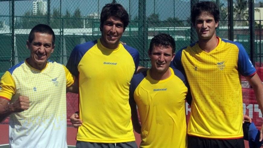 Colombia oro en Copa de Naciones tenis - Foto COC