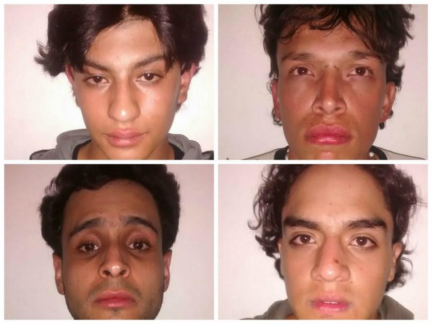Estos son los capturados. Foto: Cortesía