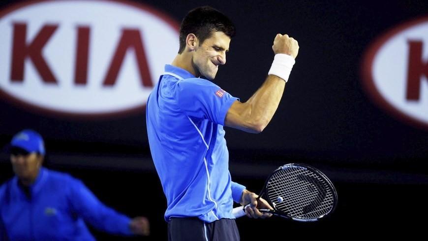 El tenista serbio Novak Djokovic