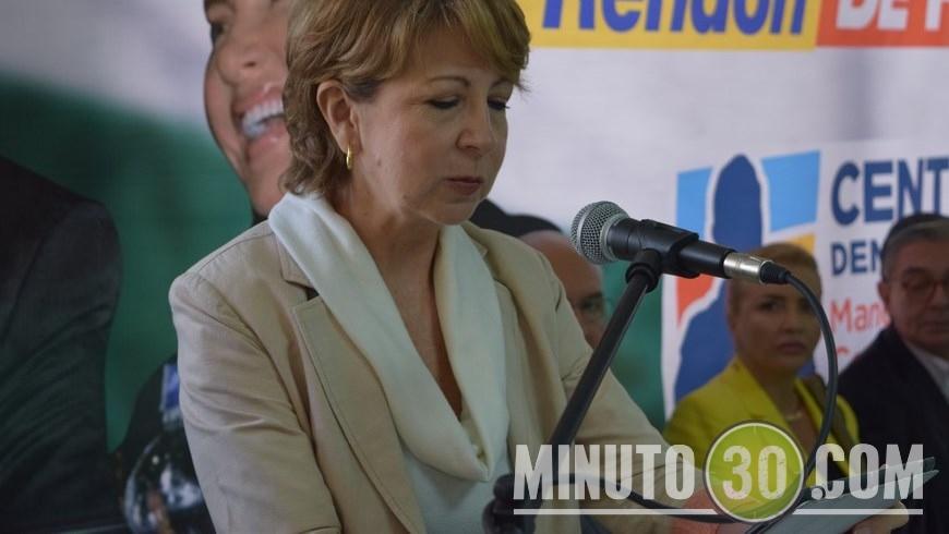 En la foto Silvia Ramos, hermana del exgobernador Luis Alfredo Ramos