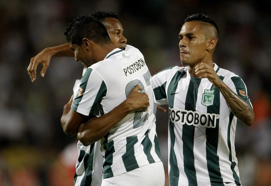 El Atlético Nacional venció también por 2-0 al Águilas Pereira, pero anuncia cambios por las lesiones del defensa Francisco Nájera y del centrocampista venezolano Alejandro Guerra, autor de ese doblete. EFE/Archivo