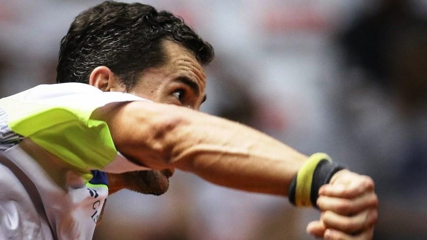 El tenista Santiago Giraldo.