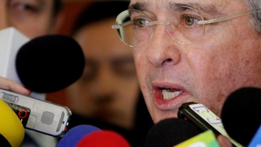 En la imagen, el expresidente y actual senador colombiano Álvaro Uribe. EFE/Archivo