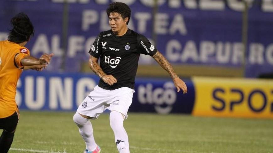 El delantero paraguayo, Marco Lazaga. Foto tomada de internet.