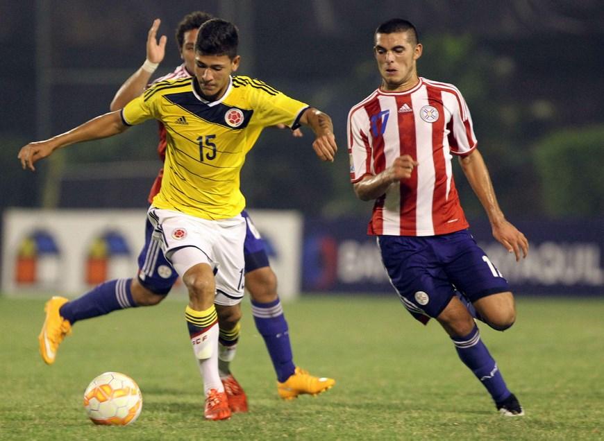 En la imagen el jugador colombiano Jorge Andrés Carrascal.