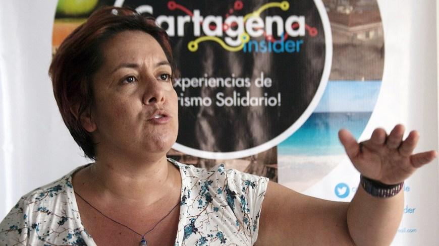 Ana María González, directora ejecutiva de Cartagena Insider.