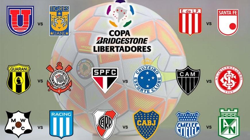 Llaves de octavos Copa Libertadores Copiar