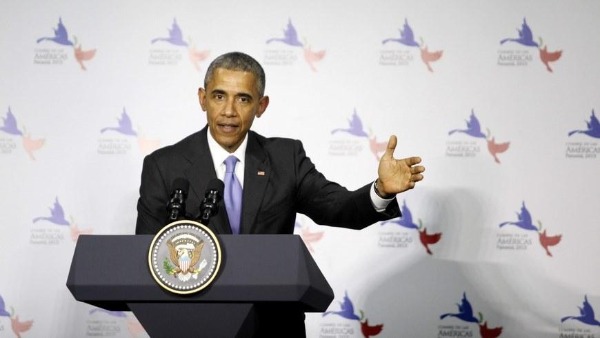 Obama hits