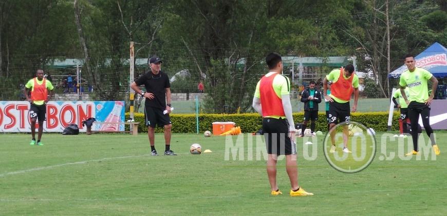 Osorio entrenamiento de Nacional