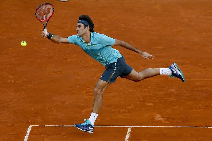 El tenista suizo Roger Federer. EFE/JuanJo Martín