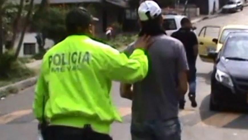 Una de las capturas de este caso. Foto: Policía Metropolitana del Valle de Aburrá.